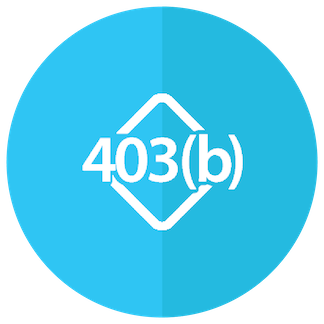 403b Retirement Planning Solutions Icon